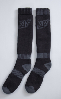 Jethwear Pow Sock Black/Grey OSFA