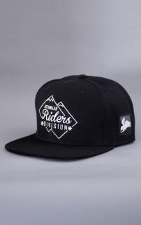 Riders Snapback Black C/O black ONESIZE