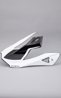 Helmet Visor White for Imperial Helmets
