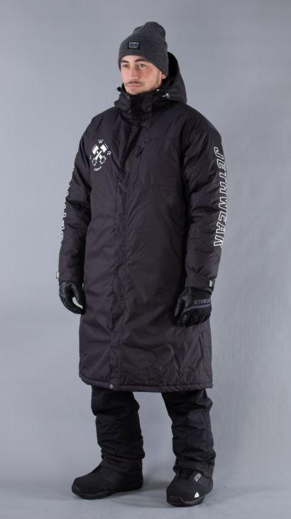 JW Pit Coat One Size Svart/Vit
