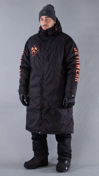 JW Pit Coat One Size Svart/Fiery Coral